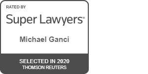 Rated by Super Lawyers - Michael Ganci - Selected in 2020 Thomson Reuters